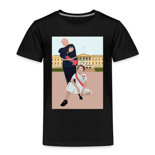 Slottet - Premium T-skjorte for barn