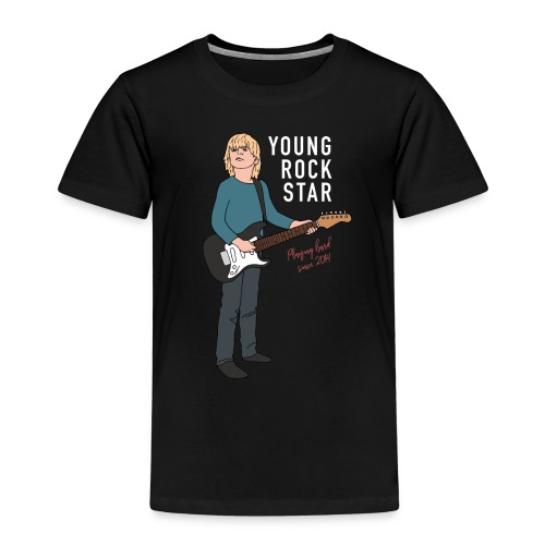 Young Rock Star 2 - Børne premium T-shirt