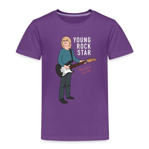 Young Rock Star 2 - Børne premium T-shirt