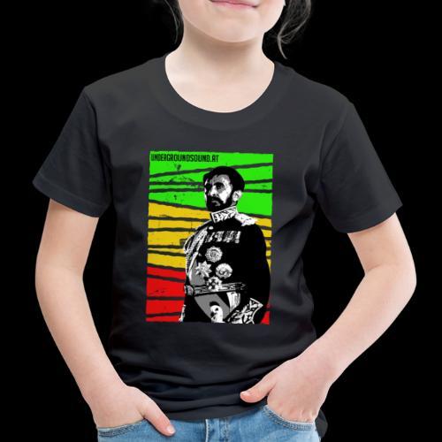 EMPORER SELASSIE I - Kinder Premium T-Shirt