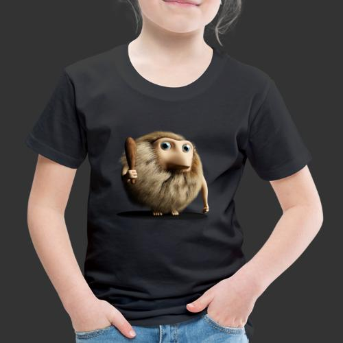Neandertaler Neanderthaler Urmensch mit Keule - Kinder Premium T-Shirt