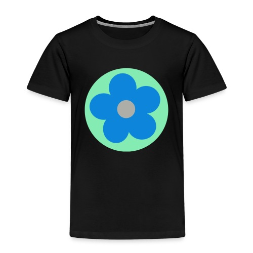 Blaue Blume - Kinder Premium T-Shirt