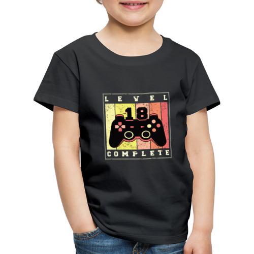 Level 18 Complete - Kinder Premium T-Shirt