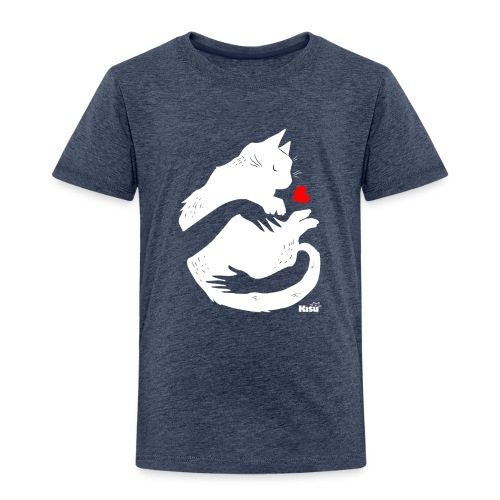 Halaus valkoinen - Lasten premium t-paita