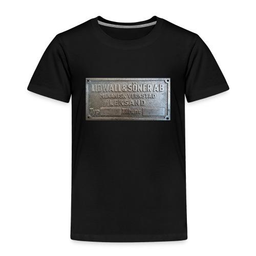 Tillverkningsskylt före 1967 - Premium-T-shirt barn