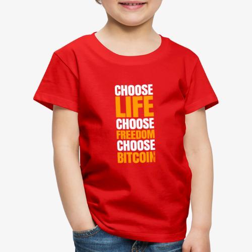 crypto bitcoin cryptocurrency cryptomonnaie - T-shirt Premium Enfant