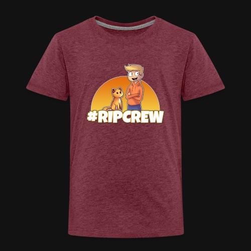 Rippelz - #RIPCrew - Kinder Premium T-Shirt