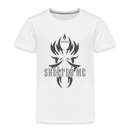 Support Shelter MC - Premium T-skjorte for barn