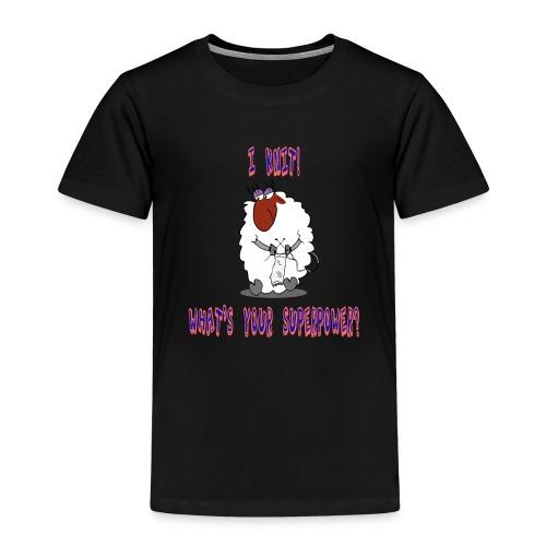 I Knit, Superpower - Kinder Premium T-Shirt