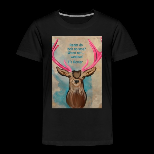 hugo rennt - Kinder Premium T-Shirt