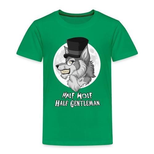 Half Wolf Half Gentleman - Koszulka dziecięca Premium