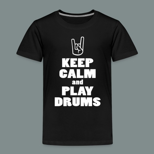 Keep calm and play drums - T-shirt Premium Enfant
