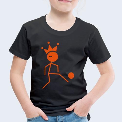 Voetbalkoning - Kinderen Premium T-shirt