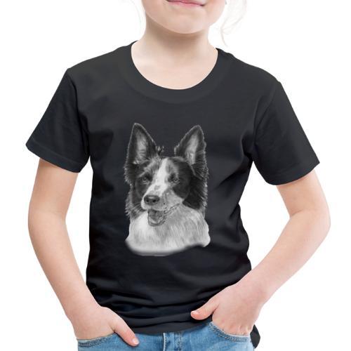 border collie 2 - Børne premium T-shirt
