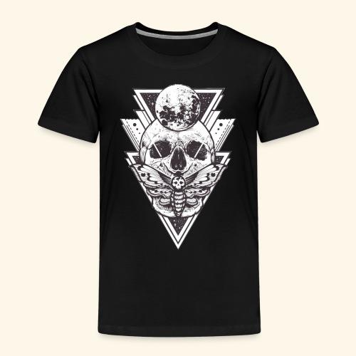 dimensional skull - Camiseta premium niño