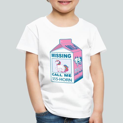 Missing Unicorn - T-shirt Premium Enfant