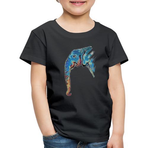 Éléphant Design - T-shirt Premium Enfant