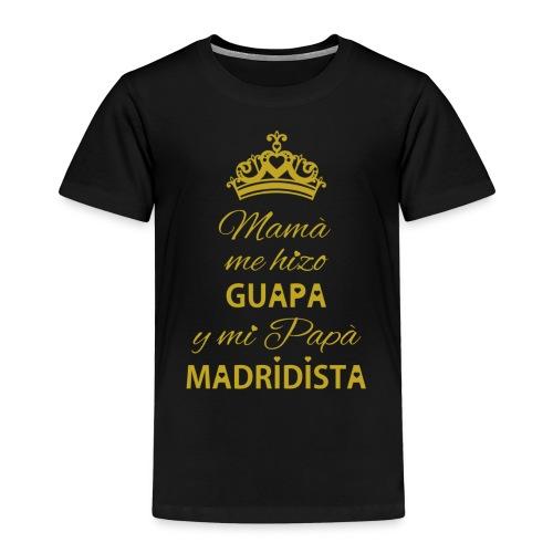 Guapa Madridista - Maglietta Premium per bambini