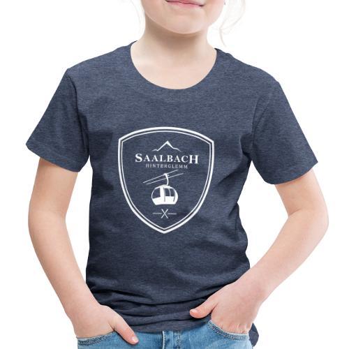 Skilift embleem Saalbach Hinterglemm - Kinderen Premium T-shirt