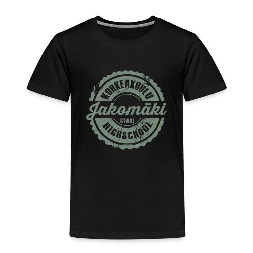 77V-JAKOMÄEN KORKEAKOULU - Stadi, Helsinki - Lasten premium t-paita