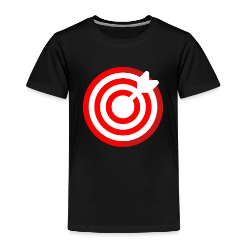 dartboard - Kinder Premium T-Shirt