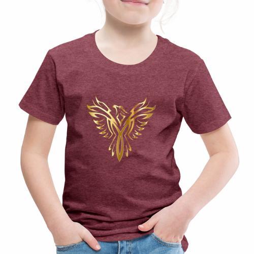 Złoty fenix - Koszulka dziecięca Premium