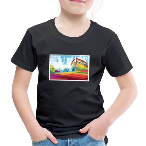 DK-Shirts Nymindegab Pop-Art - Kinder Premium T-Shirt