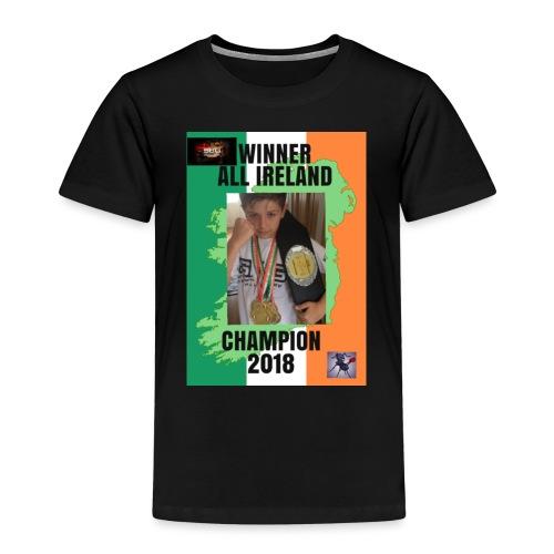 ANT THE CHAMP with 2018 winning belt - Kids' Premium T-Shirt