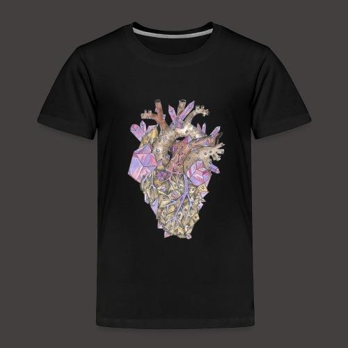 Le Coeur de Cristal Couleur - T-shirt Premium Enfant