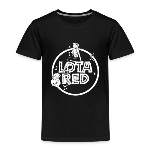 Lota Red Girl - Kinder Premium T-Shirt