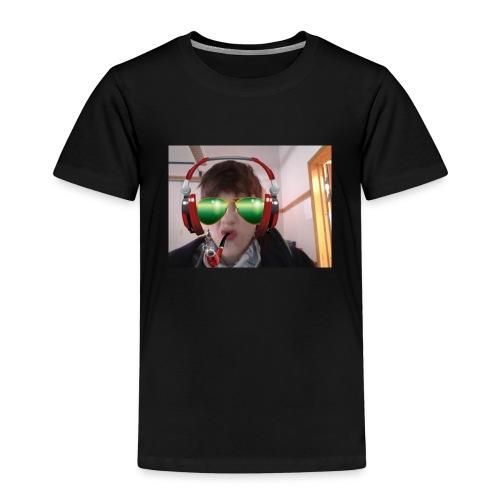 SMOKE NATION!! - Premium T-skjorte for barn