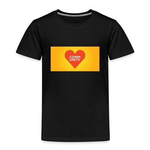 I LOVE COMMUNITY T-SHIRT - Kinder Premium T-Shirt