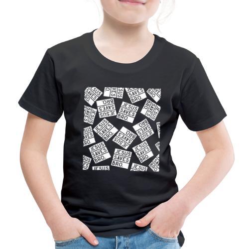 JESUS SAVES BRO - Christlich - Kinder Premium T-Shirt