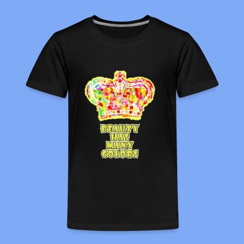Schönheit hat viele Farben - Kinder Premium T-Shirt