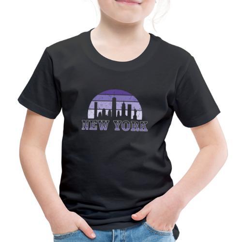 New York skyline - Camiseta premium niño