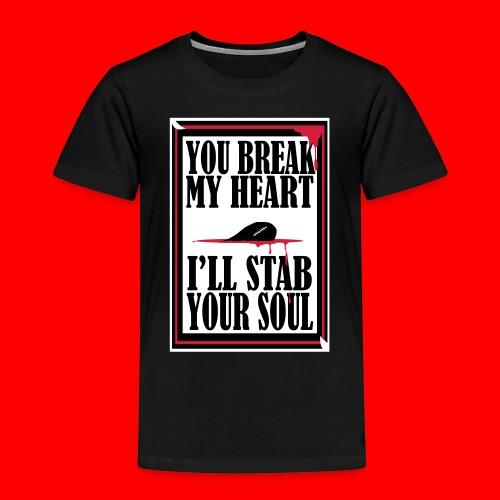HeartBreaker - Kids' Premium T-Shirt