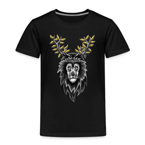 Deer Lion - Kids' Premium T-Shirt