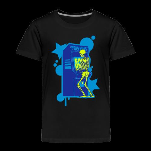 Hi-Score Blue - Koszulka dziecięca Premium