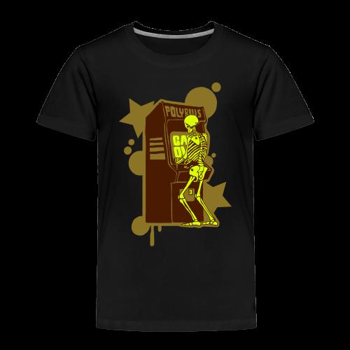 Hi-Score Gold and Neon - Koszulka dziecięca Premium