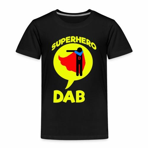 Dab supereroe/ Dab Superhero - Maglietta Premium per bambini