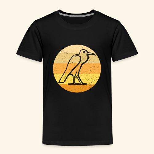 Egyptian Bird Retro - Kids' Premium T-Shirt