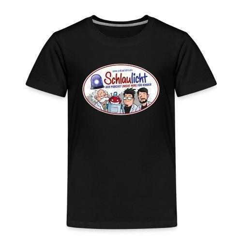 schlaulichter oval - Kinder Premium T-Shirt
