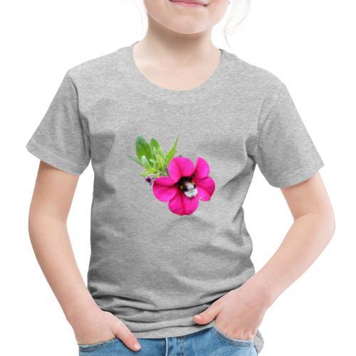 Miljoonakello ja kimalainen - Lasten premium t-paita