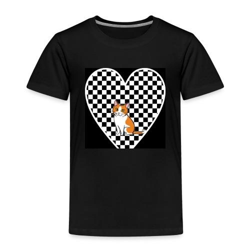 Charlie the Chess Cat - Kids' Premium T-Shirt
