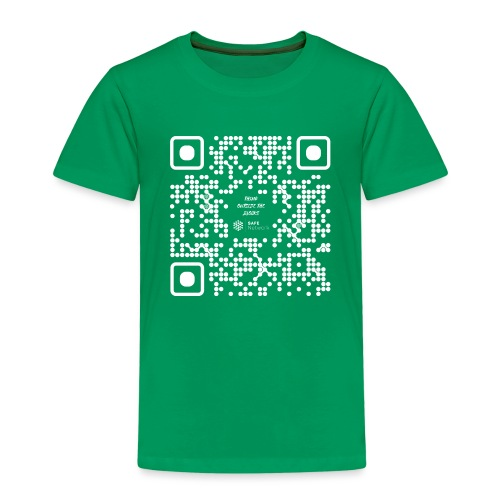 QR The New Internet Should not Be Blockchain Based W - Kids' Premium T-Shirt