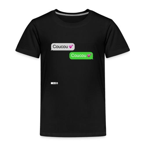 coucou mon coeur - T-shirt Premium Enfant