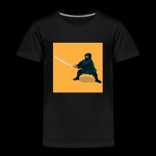 dikke ninja - Kinderen Premium T-shirt