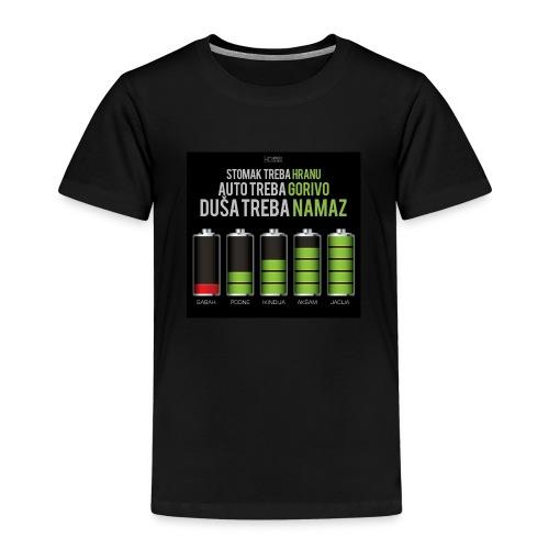dusa treba namaz / es-selamu alejkum - Kinder Premium T-Shirt
