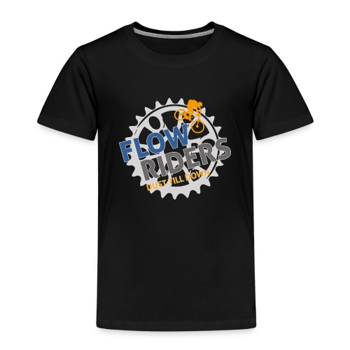 FLOWRIDERS - dust till down - Kinder Premium T-Shirt