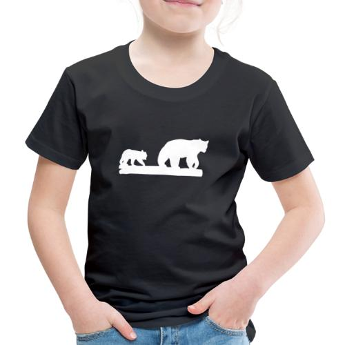 Bär Bären Grizzly Raubtier Wildnis Nordamerika - Kinder Premium T-Shirt